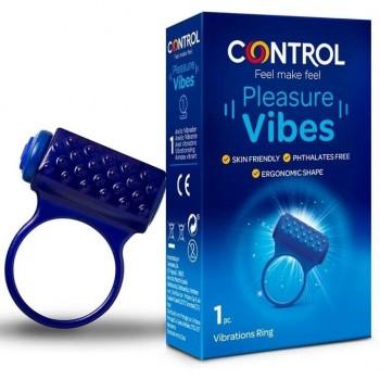 CONTROL PLEASURE VIBES ANILLO VIBRADOR