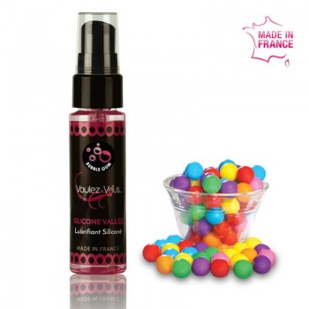 VOULEZ VOUS LUBRICANTE SILICONA CHICLE 35 ML