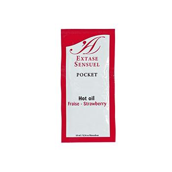 EXTASE SENSUEL ACEITE ESTIMULANTE FRESA 10ML
