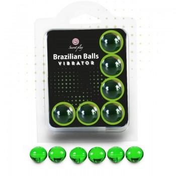 SECRETPLAY SET 6 BRAZILIAN BALLS VIBRATOR