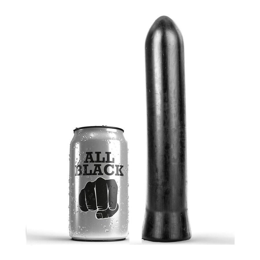 ALL BLACK DILDO 22 CM