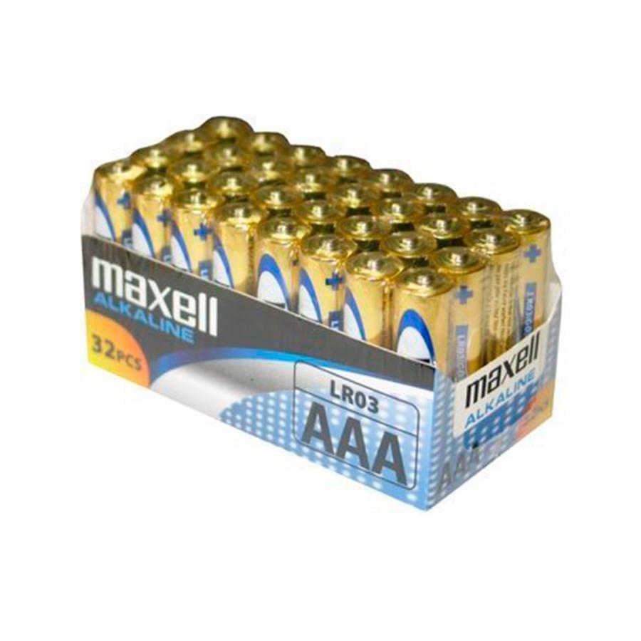 MAXELL PILA ALCALINA AAA LR03 PACK32 PILAS